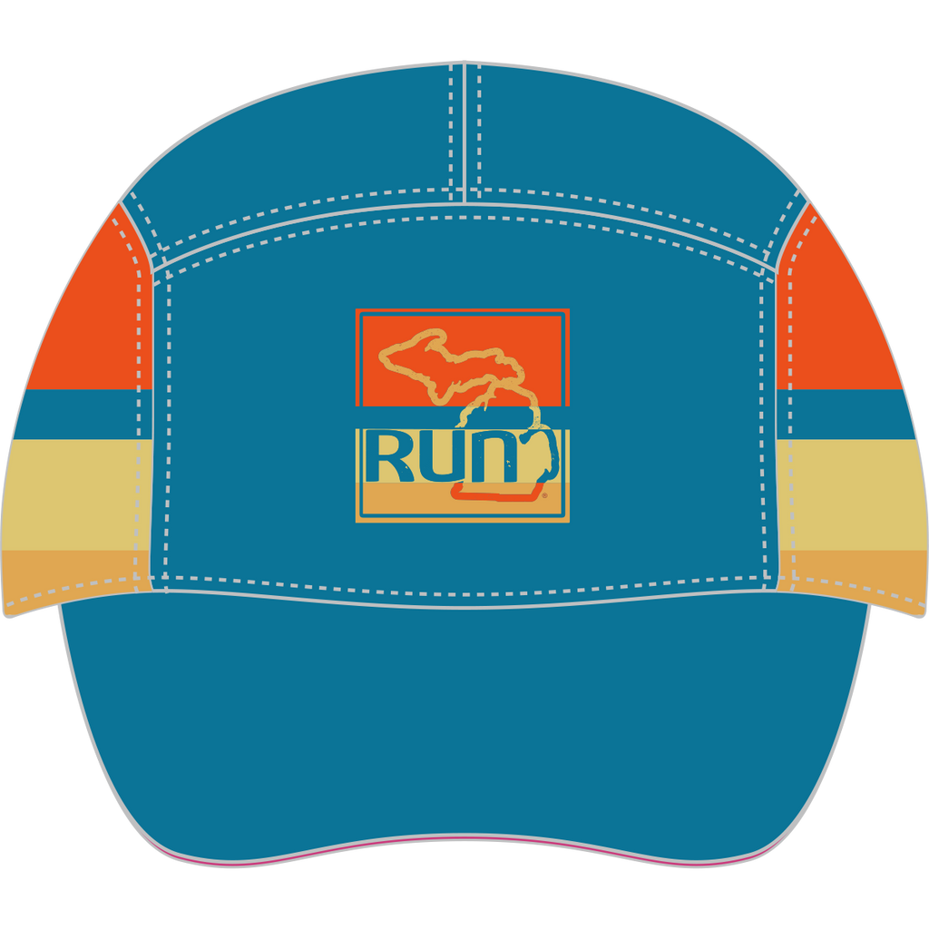 Run the Mitt Run Hat