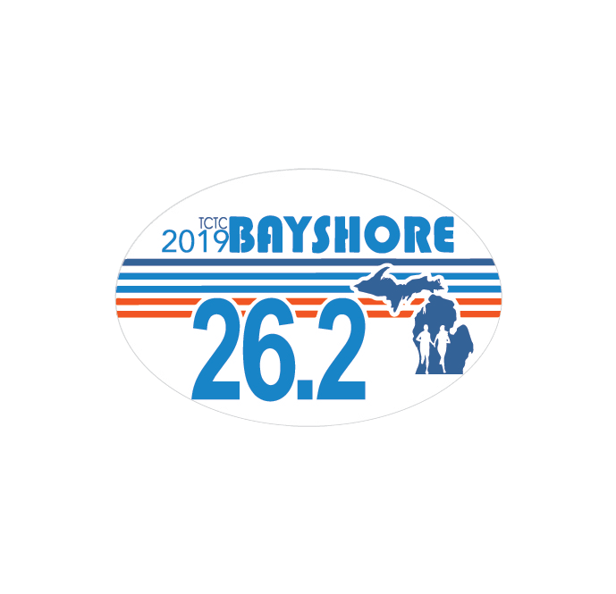 Bayshore 2019 Distance Decal