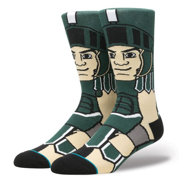 Sparty Green Socks