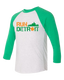 Run Detroit Corktown Raglan