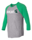 Run Sparty Raglan