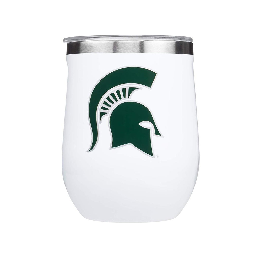 12oz MSU Stemless