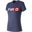 Run Flag Tech Tee