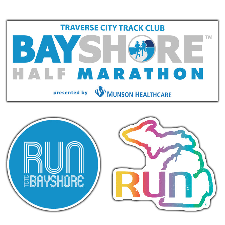 Bayshore Distance Sticker 3-Pack (26.2, 13.1, 10K)