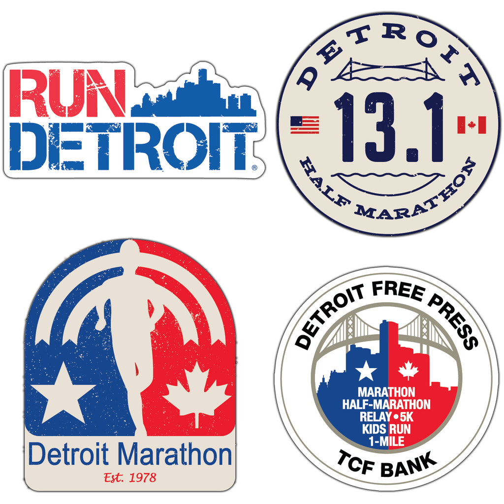 Detroit Sticker Pack (13.1)
