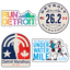 Detroit Sticker 4-Pack