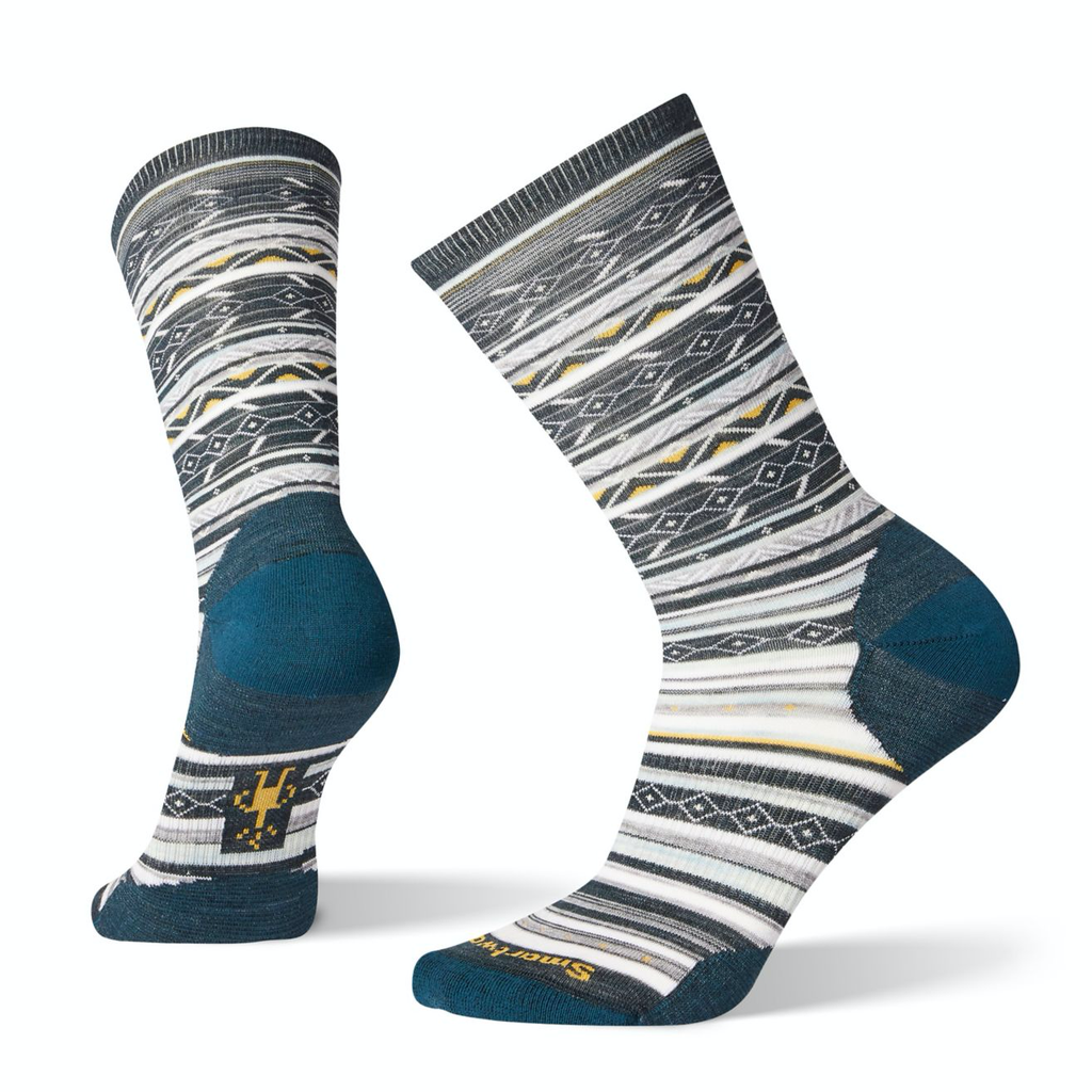Ethno Graphic Crew Socks