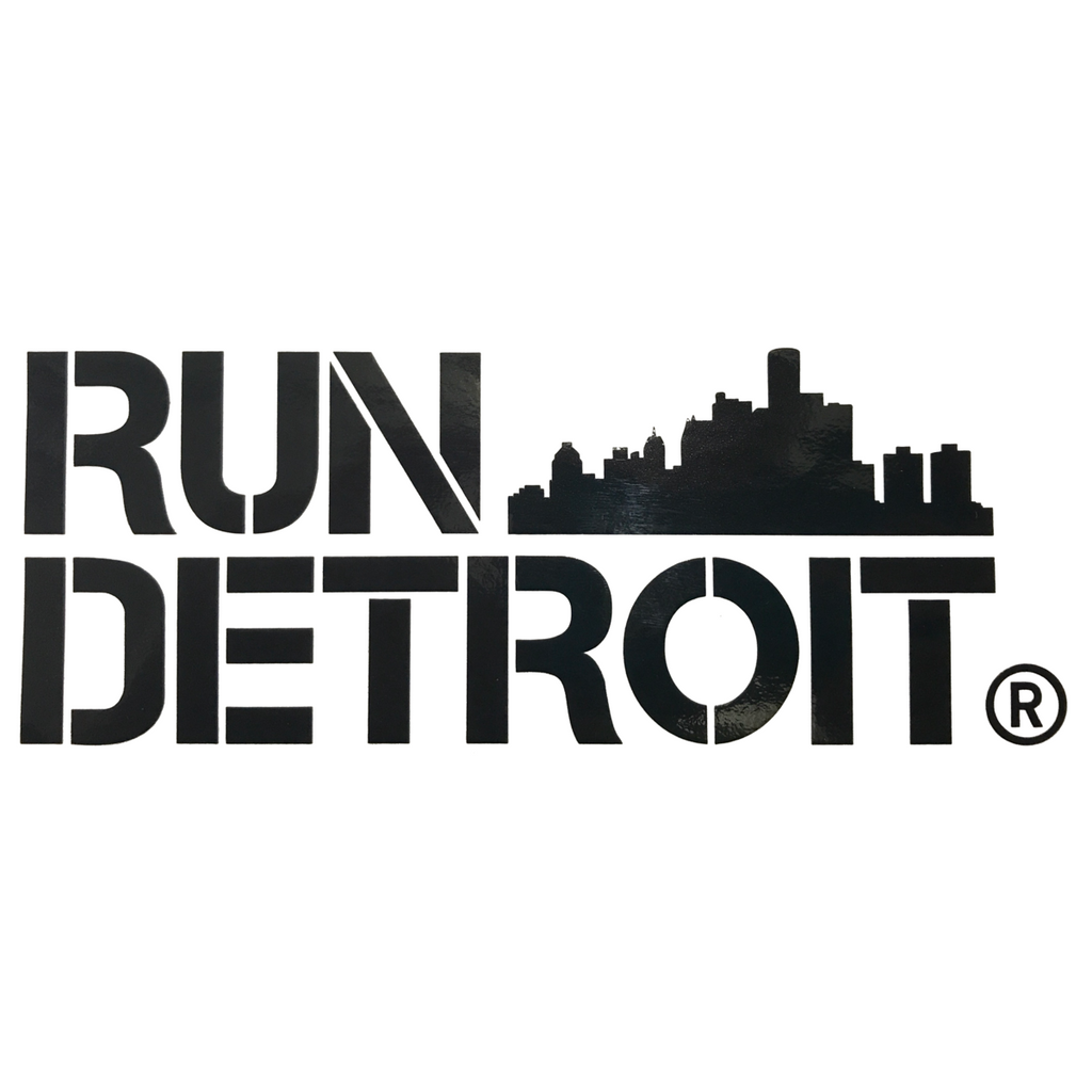 Run Detroit Sticker