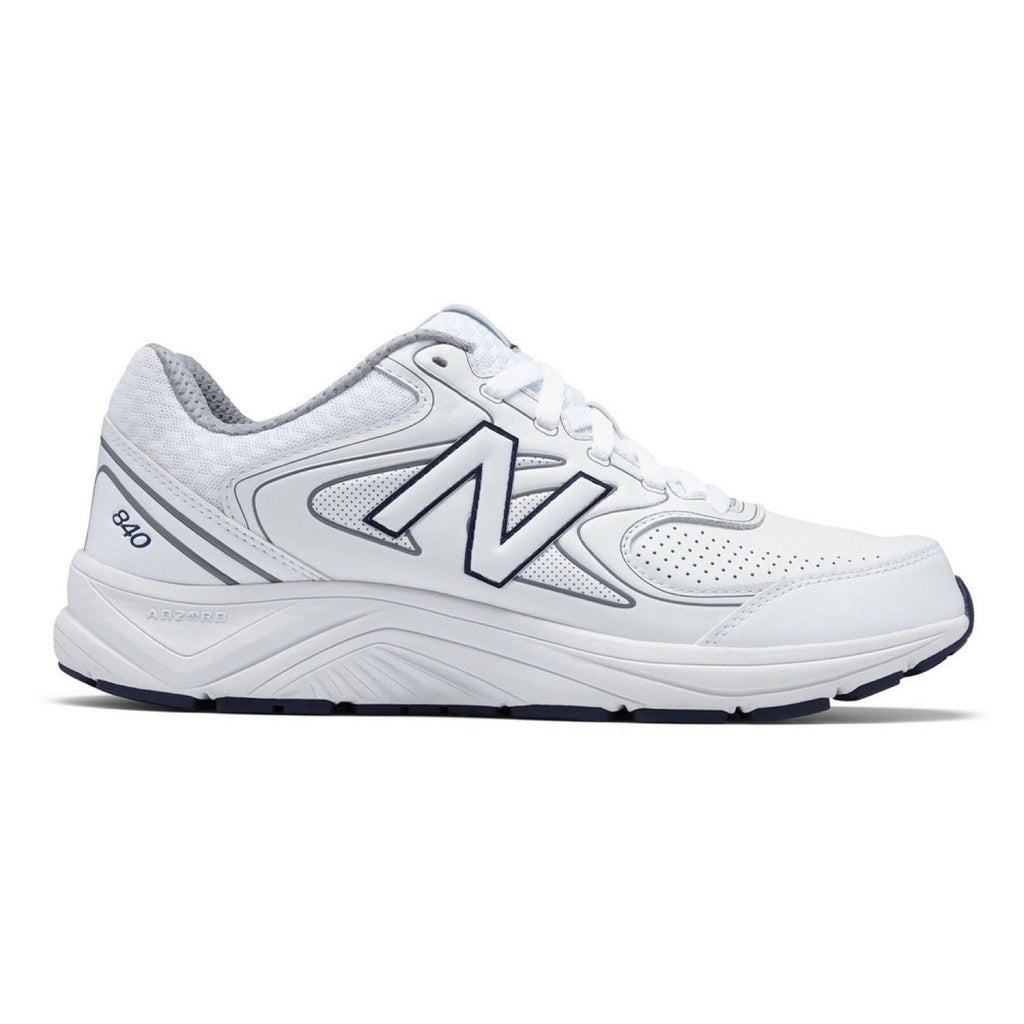 New Balance MW840WT2 Men/'s 840v2 ABZORB Cushioning Sneaker White Walking Shoes