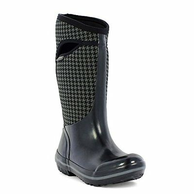 Plimsol Houndstooth Tall Waterproof