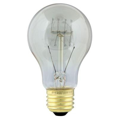Original Vintage Style 60-Watt Incandescent AT19 Light Bulb