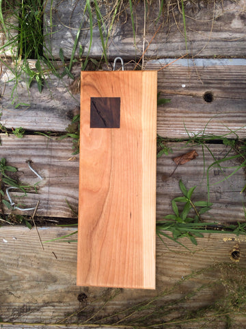 Serving Board with square inlay