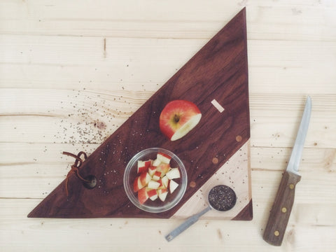 Triangle Serving board