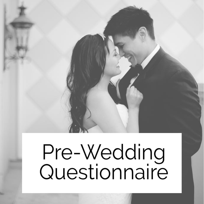 Pre-Wedding Questionnaire