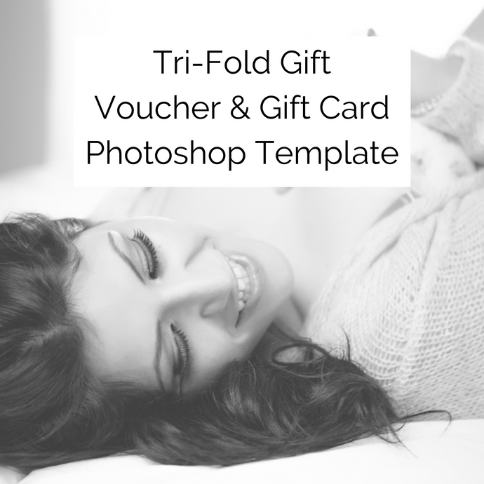 Bundle: Tri-Fold Gift Voucher & Gift Card Photoshop Templates