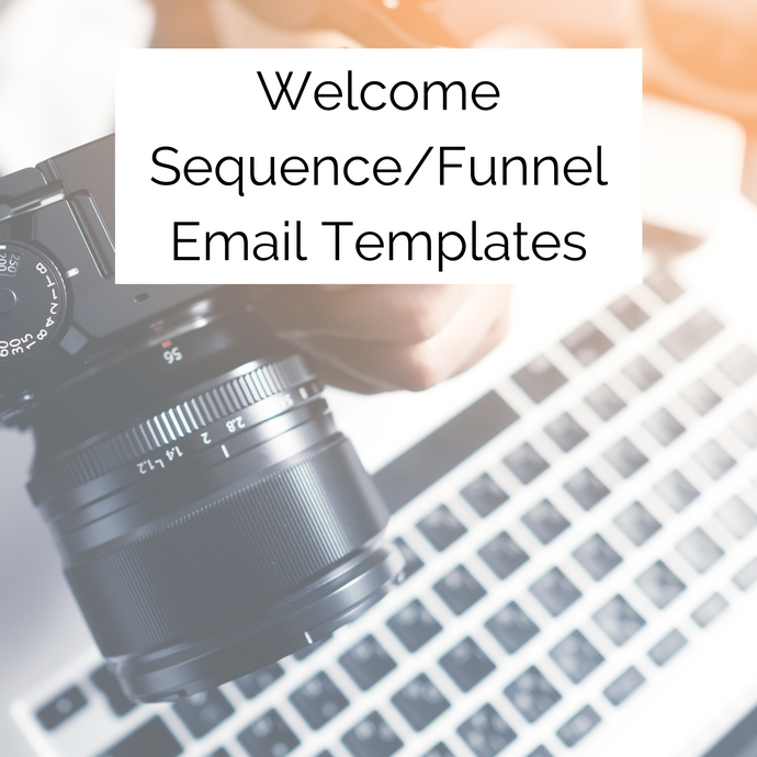 Welcome Sequence Email Templates