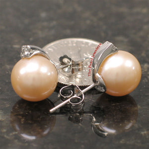 14k-White-Gold-Diamonds-9-10mm-Pink-Cultured-Pearl-Stud-Earrings