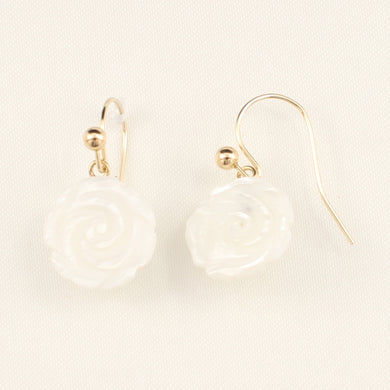 1110360-14K-Yellow-Gold-Mother-of-Pearl-Hook-Earrings
