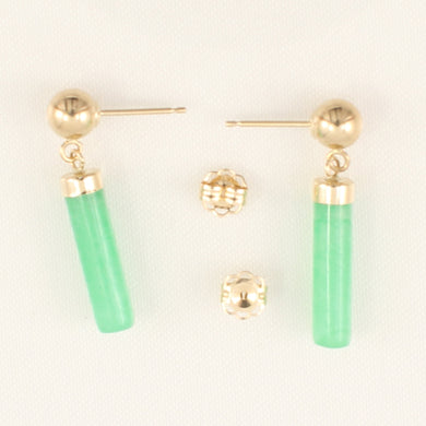 1146703-14k-Yellow-Gold-Ball-Dangle-Green-Jade-Earrings