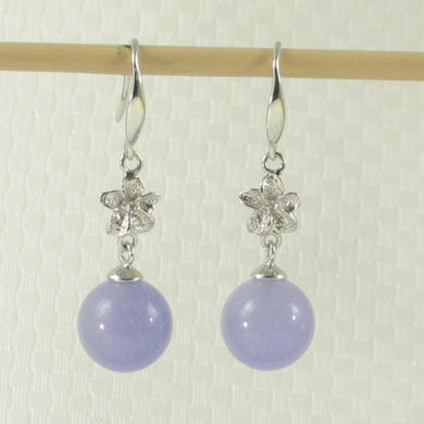 1199857-14k-Gold-Hawaiian-Plumeria-Bead-Lavender-Jade-Hook-Earrings
