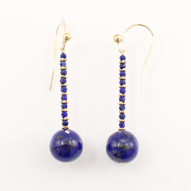 1300331-Lapis-14K-Yellow-Gold-Dangling-Hook-Earrings