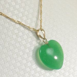 2100093-14k-Gold-Hand-Crafted-Heart-Love-Green-Jade-Pendant-Necklace