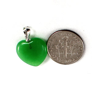 2100098-14k-White-Gold-Hand-Crafted-Heart-Love-Green-Jade-Pendant