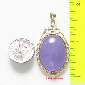 2100162-Real-14k-Gold-Oval-Cabochon-Lavender-Jade-Pendant-Necklace