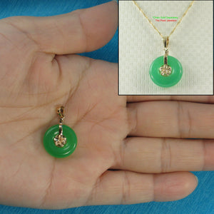 2100263-14k-Gold-Hawaiian-Plumeria-Green-Jade-Pendant-Necklace