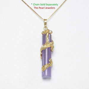 2100272-Lavender-Jade-14k-Gold-Dragon-Totem-Column-Pendant-Necklace