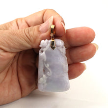 Load image into Gallery viewer, Double Sided Exquisite Carving Grade A Jadeite Jade Pendant