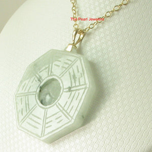 2100936-14k-Hand-Carved-Eight-Trigrams-Natural-Jadeite-Pendant-Necklace