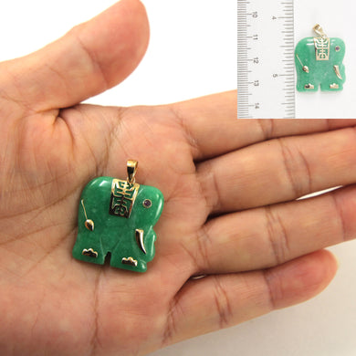 2101233-14k-Yellow-Gold-Hand-Carved-Elephant-Green-Jade-Ruby-Eye-Pendant