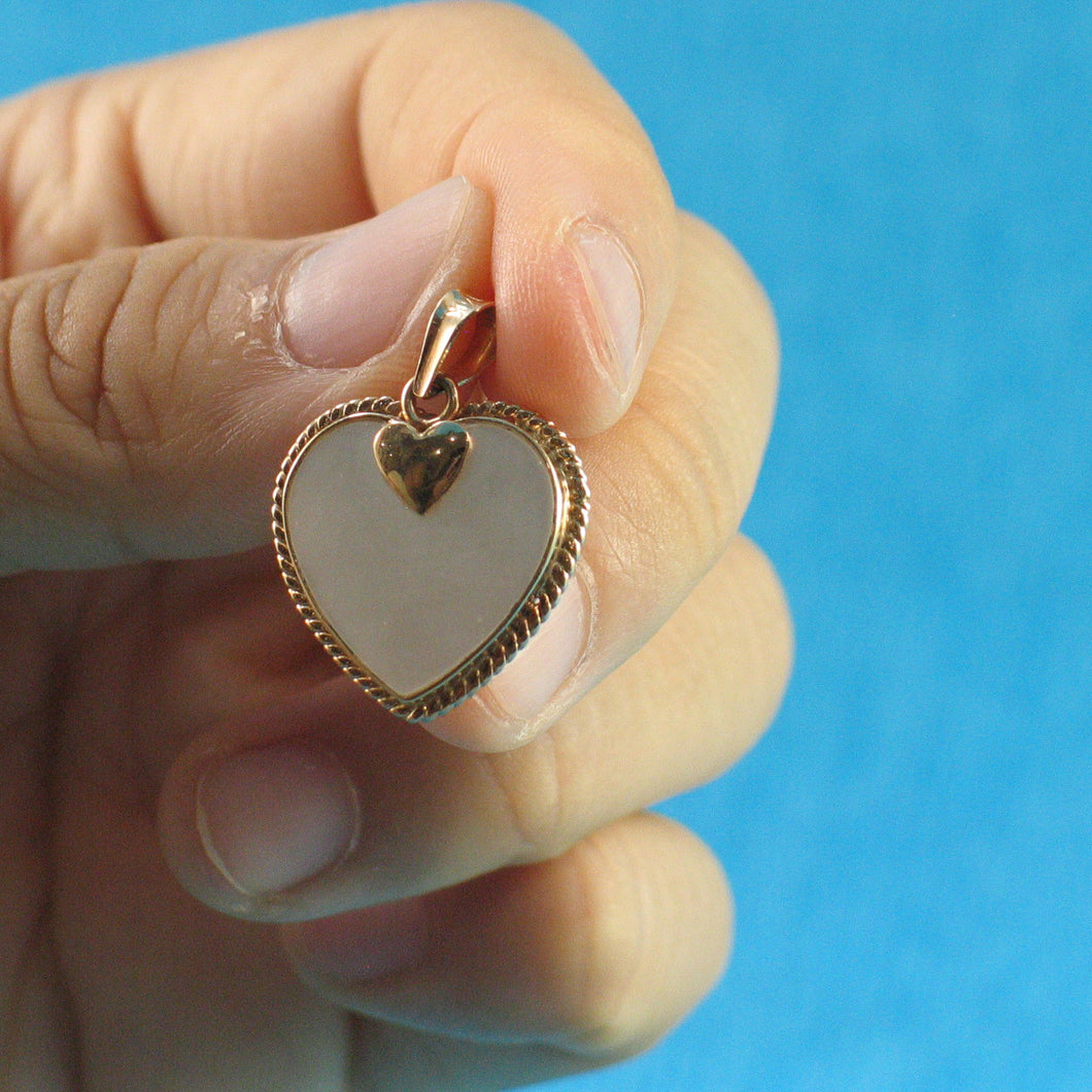 2130480-14k-Gold-Heart-Love-Mother-of-Pearl-Pendant-Necklace