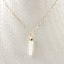 Load image into Gallery viewer, 14k-Yellow-Gold-Hand-Carved-Mother-of-Pearl-Pendant-Necklace