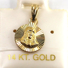 Load image into Gallery viewer, Beautiful & Lucky 14k Gold Pendant