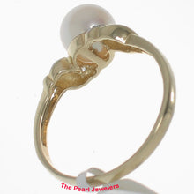 Load image into Gallery viewer, 3099910-14k-Gold-White-Genuine-AAA-Cultured-Pearl-Diamonds-Ring