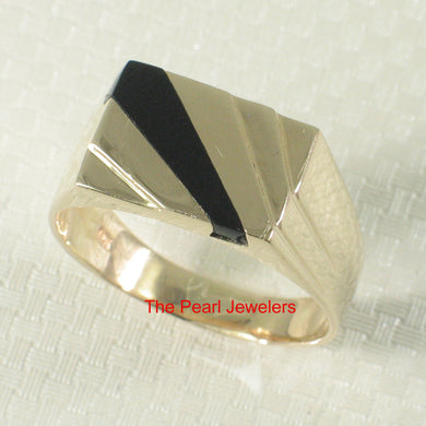 3130041-14k-Yellow-Gold-Asymmetric-Stripe-Black-Onyx-Band-Ring