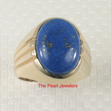 3130044-14k-YG-Cabochons-Cut-Genuine-Natural-Blue-Lapis-Solitaire-Ring