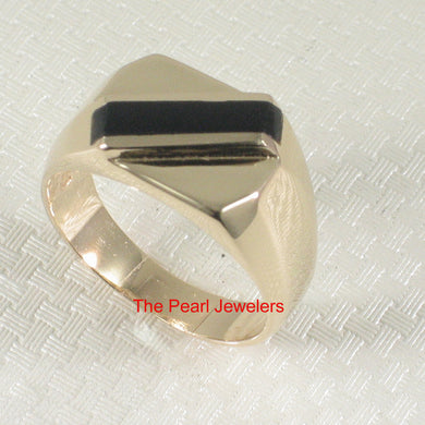 3130051-14k-Yellow-Gold-Asymmetric-Stripe-Black-Onyx-Unique-Design-Ring