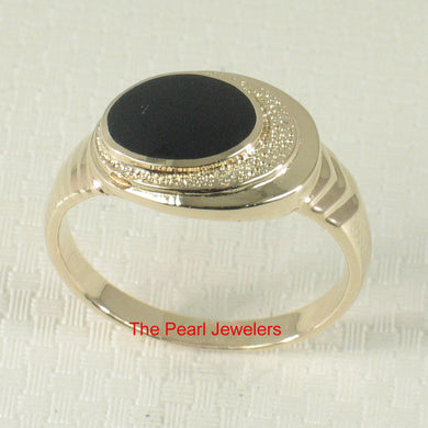 3130071-14k-Yellow-Gold-Providing-Elegance-Simplicity-Genuine-Black-Onyx-Ring