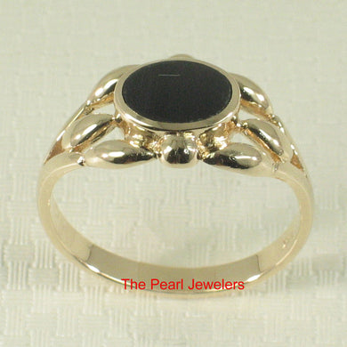 3130081-14k-Yellow-Gold-Ring-Genuine-Black-Onyx-Flush-Surface-Ring