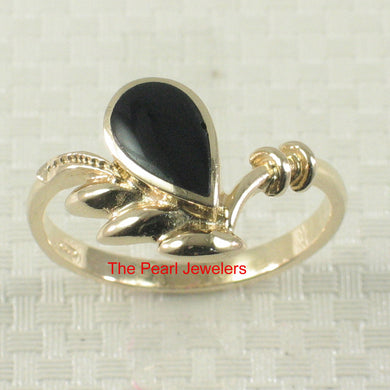 3130231-14k-Yellow-Gold-Raindrop-Shaped-Genuine-Black-Onyx-Band-Ring