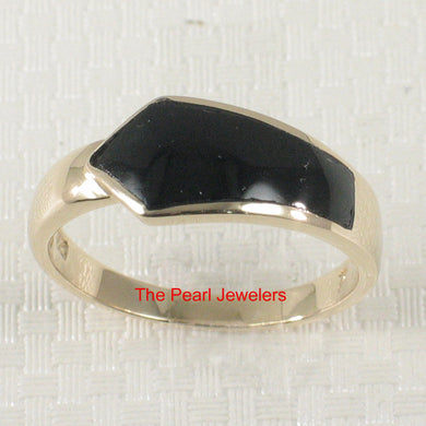 3130401-14k-Yellow-Gold-Arrow-Shaped-Genuine-Black-Onyx-Band-Ring
