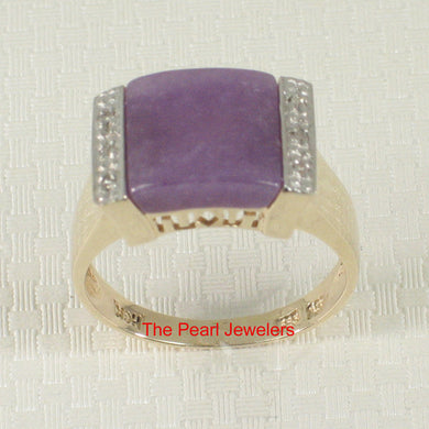 3187302-14k-Yellow-Gold-Diamonds-Square-Lavender-Jade-Cocktail-Ring