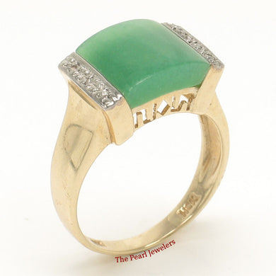 3187303-14k-Yellow-Gold-Diamonds-Square-Green-Jade-Cocktail-Ring