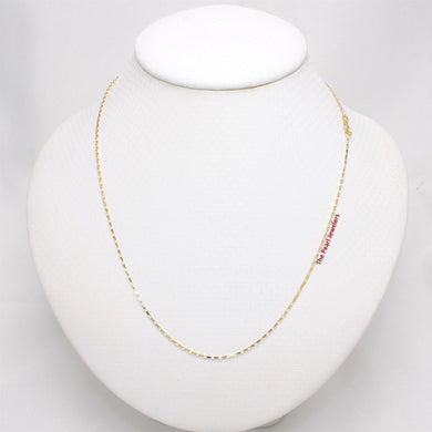 580016-14k-Solid-Yellow-Gold-Reflection-Box-Style-Chain-Necklace