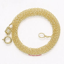 Load image into Gallery viewer, 14k Solid Yellow Gold Long Cable 1.0mm Style Chain Necklace