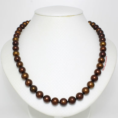 600763S24-Chocolate-Cultured-Pearl-Hand-Knot-Strand-Necklace