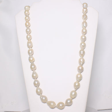 620538R-Baroque-Nucleated-Pearl-Hand-Knot-Endless-Necklace-34""